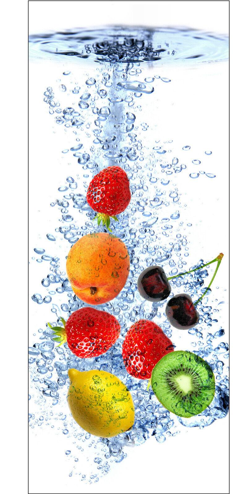 Plakat Plakat Tür Deko Schein Auge Früchte Ref 727 - 4 Größe
