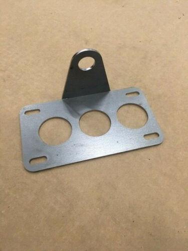 Custom Side Mount License Plate Bracket 11ga Steel Build Your Own Dual Mount
