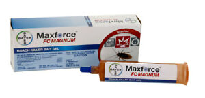 Details about 1 Tube of Maxforce FC Magnum Roach Killer Bait Gel w Plunger and Tip