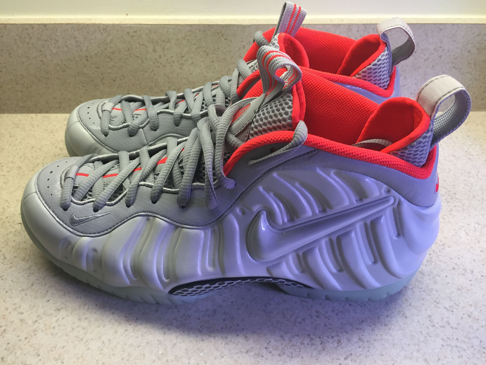 cf095a436e Air PRM 10.5 White Deadstock Foamposite Pro nymbsh4749-Athletic ...