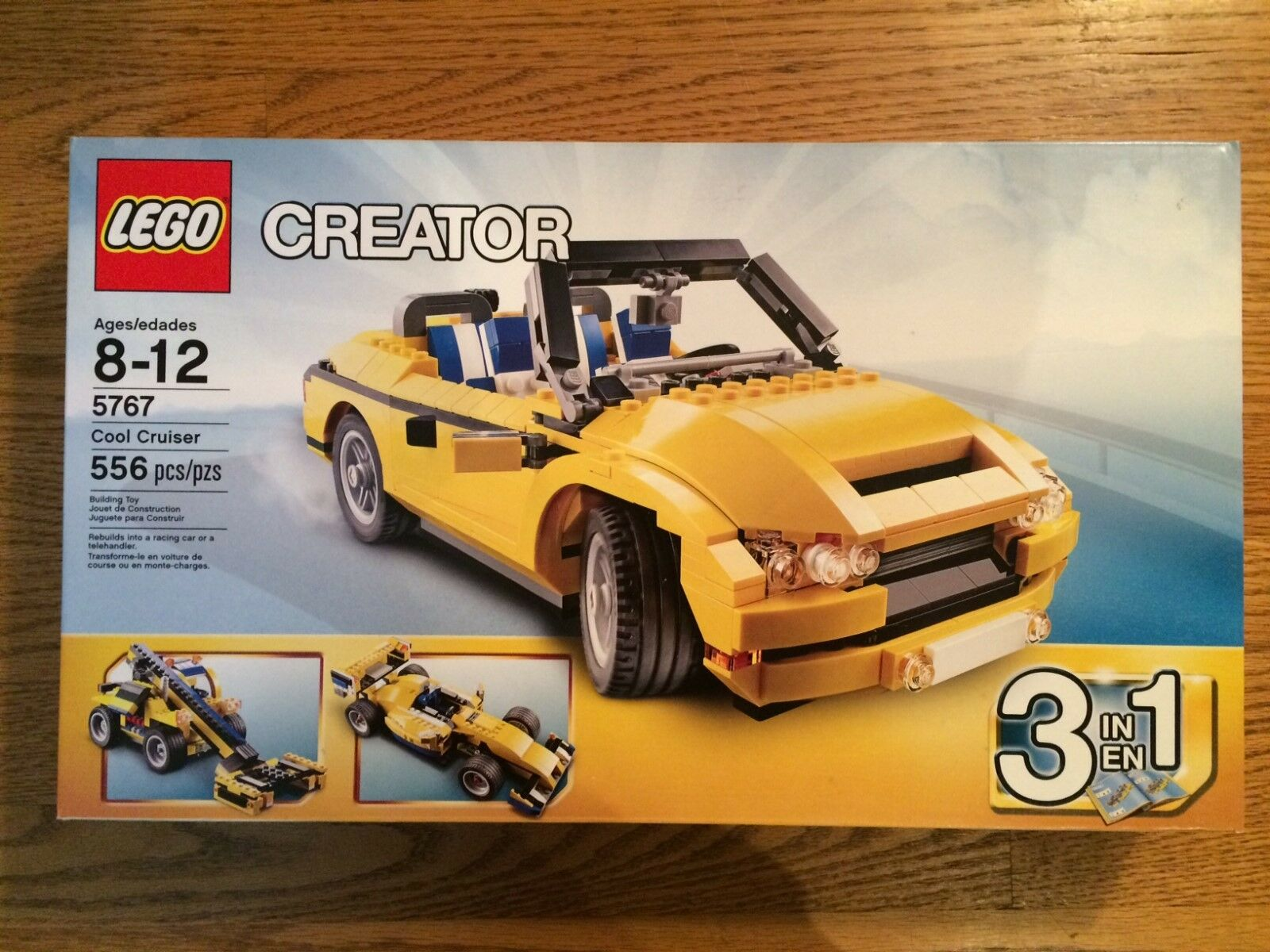 LEGO 5767 Cool Cruiser Car from Creator series. Nuovo in Box