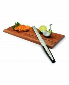 Set regalo Paul Bocuse con coltello per salmone spremi limone e tagliere 0G84