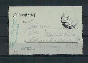Lettre-Chasseur-Batl-13-1-Komp-Fpst-406-apres-Meissen-1916