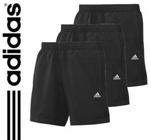 2-3prs-adidas-Chelsea-Boys-Climalite-Sports-Shorts-Age-13-14-Black-gym-football