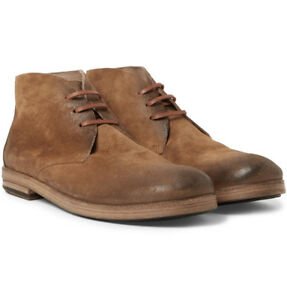 Boots New Suede Box Chukka £560 Rrp Marsell With Size Uk 8 F1PBwq