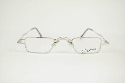 Amichevole Vintage Chic Shock C.01 40 [] 25 145 Argento Ovale Occhiali Montatura Nos-mostra Il Titolo Originale