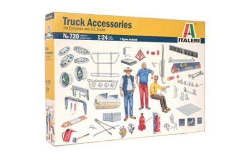 Lkw Neu Italeri 720-1//24 Truck Truck Zubehör II Truck Accessories