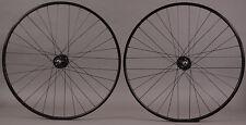 Son SL42 Polished Silver Singlespeed Track Fixed Gear Bike Wheelset 32H H Plus