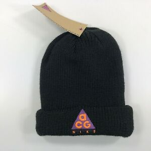 4ca3730ab Nike NikeLab ACG Adult Unisex One Size Beanie Black Orange Purple ...
