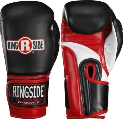 Ringside Boxing IMF Super Bag Gloves Black//Red//White