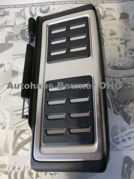 Original VW Fußstütze Edelstahl Golf 7, A3, Seat Leon, Skoda Octavia 5Q1864551A