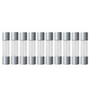 5x20mm Glassicherungen 10 x Feinsicherung Flink KFZ Sicherung 6A