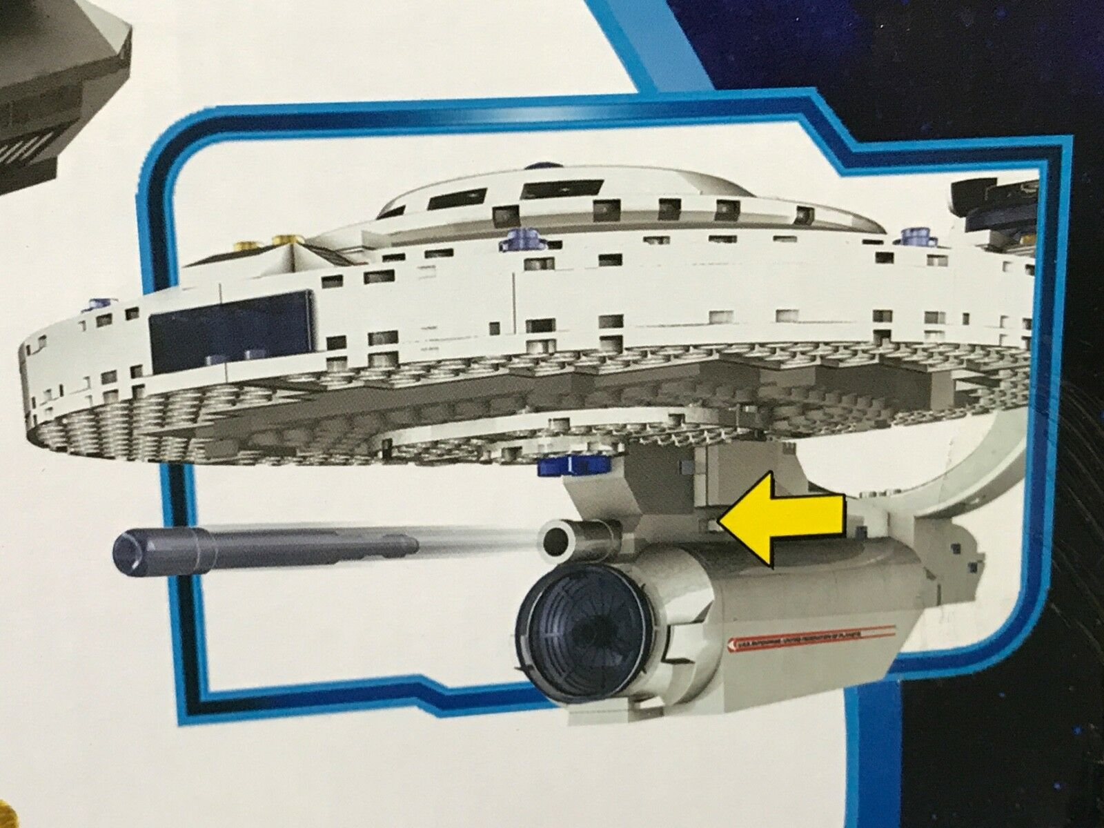 New U.S.S. U.S.S. U.S.S. ENTERPRISE Star Trek KRE-O A3137 BUILDING SET Construction SPACE SHIP 48bf1a