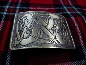 TC New Celtic Entwined Pattern Kilt Belt Buckle Antique/kilt belt Buckles Celtic