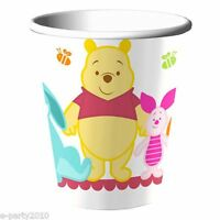 Winnie The Pooh Little Hunny 9oz Paper Cups (8) Baby Shower Party Supplies