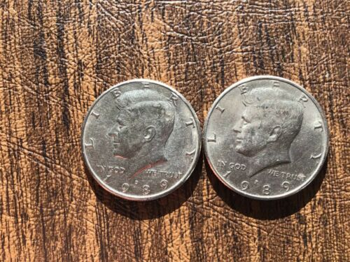 coin of each *FREE SHIPPING* 1989 P/&D Kennedy Half Dollar 1