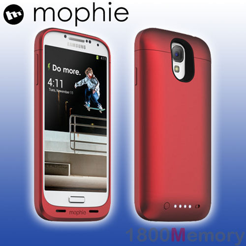 brand new 29472 65075 mophie Juice Pack for Galaxy S4 - Red