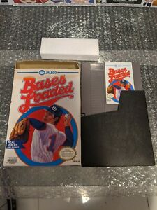 Bases Loaded 3 (Nintendo Entertainment System NES) In Box! Game + Box + Holder