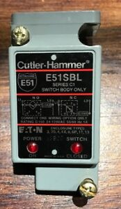 Cutler Hammer E51SBL Eaton Switch Body Series C1