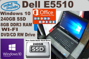 Dell-Latitude-E5510-Laptop-WIN10-Microsoft-Office-2016-PRO-NEW-240GB-SSD-8GB