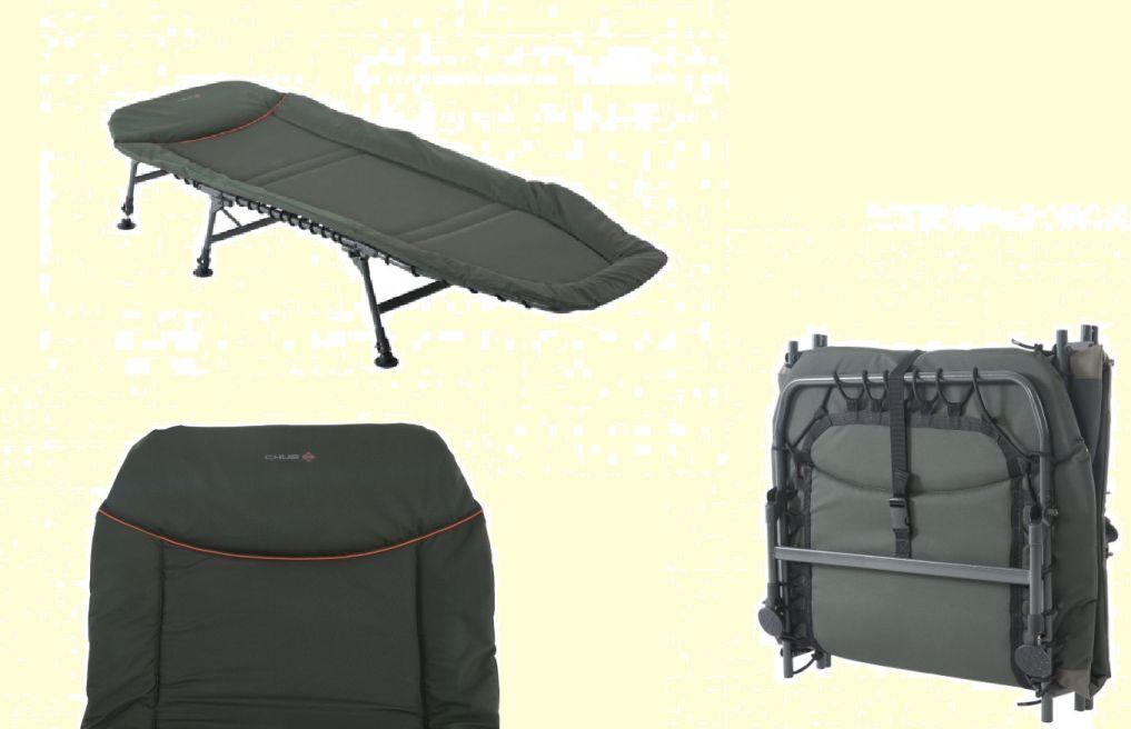 Chub RS Plus Carp Fishing 6 Leg Bedchair for Bivvy