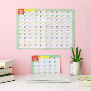 100Day-Countdown-Learning-Table-Gift-For-Kids-Schedule-Periodic-Planner-Cute
