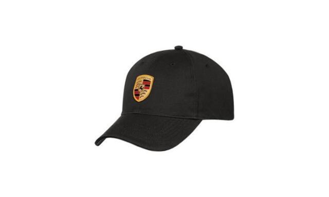 Original Porsche Design Cap Basecap Mütze mit Wappen Logo Schwarz WAP0800050C