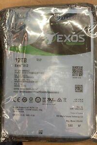 Seagate Exos 12TB 3.5 7200RPM 256MB SAS 12GB s Enterprise