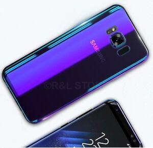 COVER-Per-Samsung-S7-EDGE-S8-S8-PLUS-RIGIDA-ULTRA-SOTTILE-ORIGINALE-034-BLUE-RAY-034