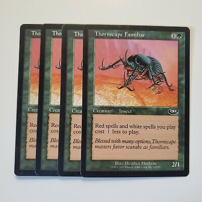 Planeshift *Cost Less* MTG 4x THORNSCAPE FAMILIAR