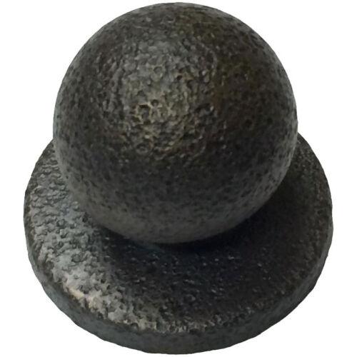 Rustic Oil Rubbed Bronze Sandcast Style Bifold Closet Door Knob /& Backplate