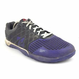 4c79ad475376 Men s Reebok Crossfit Nano 4.0 Purple Lifting Shoes Size 12 Athletic ...