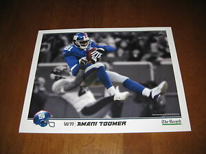 8a8585a2a Image is loading Vintage-Amani-Toomer-Poster-The-New-Jersey-Record-