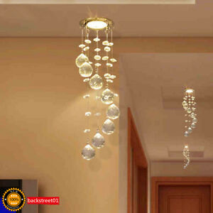 3w led crystal ceiling light small chandelier lamp pendant fixture image is loading 3w led crystal ceiling light small chandelier lamp aloadofball Gallery