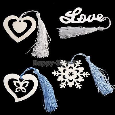 Bookmark Snowflake LOVE Heart Bookmarkers Wedding Bridal Shower Bridesmaid Gifts