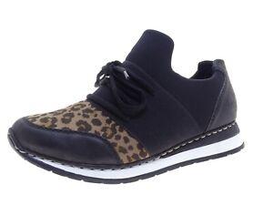 Rieker Damen Schuhe Sneaker Laufschuhe Freizeitschuhe Gr 37 Schwarz
