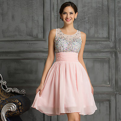 New Short Mini Prom Party Evening dress Homecoming Dresses bridesmaid Graduation