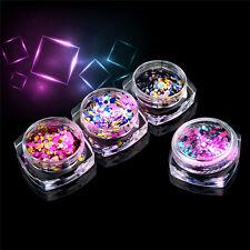 12pcs/lot ROUND GLITTER PAILLETTE DOT SHAPE Mini Sequins Confetti Loose Nail Art