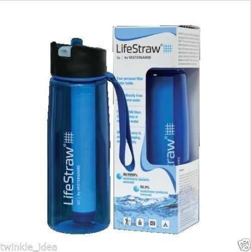Lifestraw Go Water Bottle & Filtration Purification System Filter Purifier