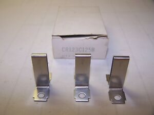 Details about 3) NEW GE GENERAL ELECTRIC C125B OVERLOAD HEATER ELEMENT LOT  OF 3