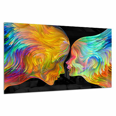 BESPOKE Glass Splashback Kitchen /& Bathroom Panel Abstract Love 0362