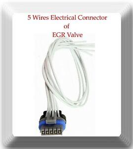 5 Wire Connector of EGR Valve EGV466 Fits Daewoo GM Jaguar Suzuki
