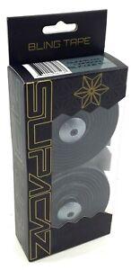 Supacaz-Bling-Road-Bike-Handlebar-Bar-Tape-With-Silicone-Gel-Gunmetal-Carbon