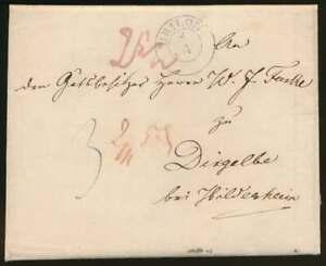 Preussen-Faltbrief-1852-mit-K2-BRILON-und-2-Bahnpoststempeln-n-DINGELBE-67766