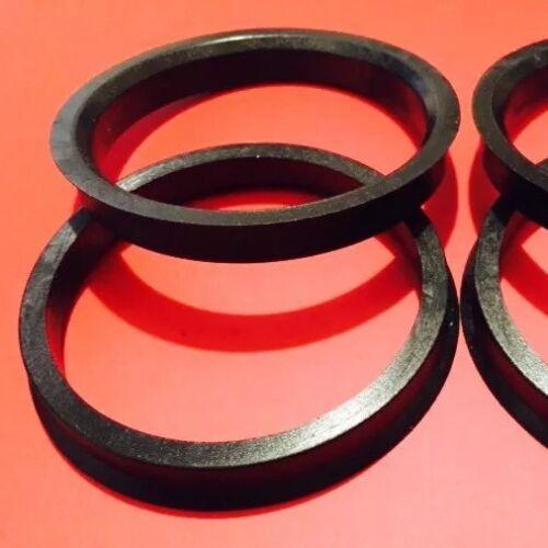 Lorinser Center Ring Plastic 82 MM-66.5 MM  Made For Lorinser Wheel Set Of 4 Pcs
