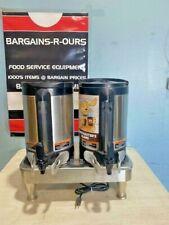 Bunn 2sh Stand Pewter Legs Warmer Amp 2 Sh 15gl Satellite Coffee Server Dispenser