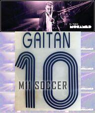 Tigres Uanl Nameset , #10 gaitan LOCAL TEMPORADA 2006-2007,