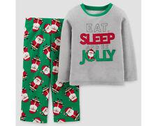 Elf Suit Boy Pajamas Pjs Boys size 2t 3t Holiday #Famjams Fleece NWT Christmas