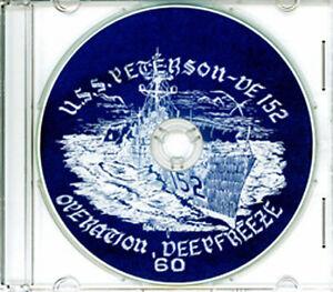 USS-Peterson-DE-152-Operation-Deep-Freeze-CRUISE-BOOK-Log-1959-1960-CD