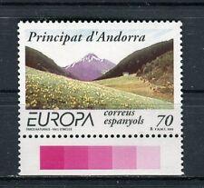 Andorra Spagnola 1999 Europa riserve e parchi naturali MNH